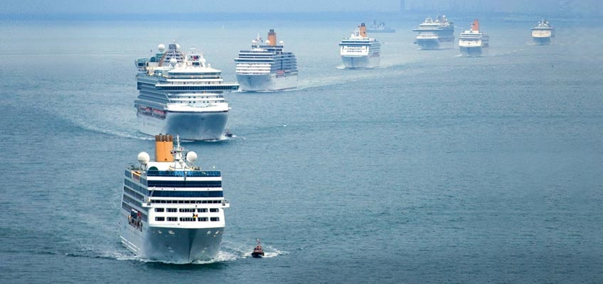 cruiseship fleet