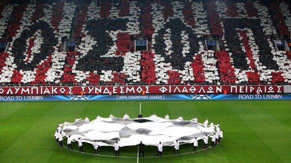 olympiakos champions league