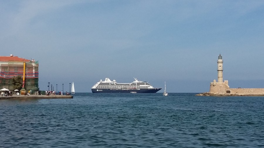cruiseship chania