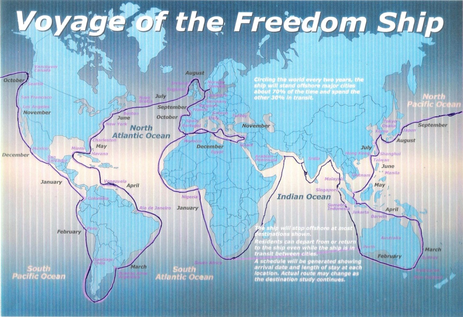 Worldwide Voyage FreedomShip