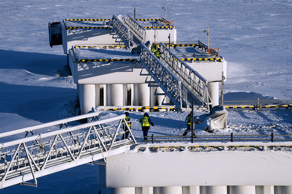lng terminals murmansk