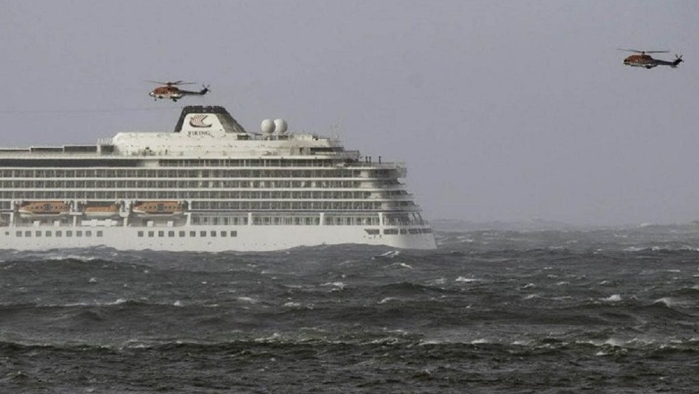 viking sky helicopters