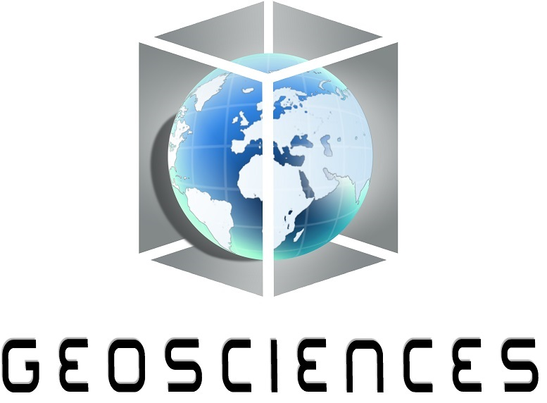 GeoSciences logo black letters