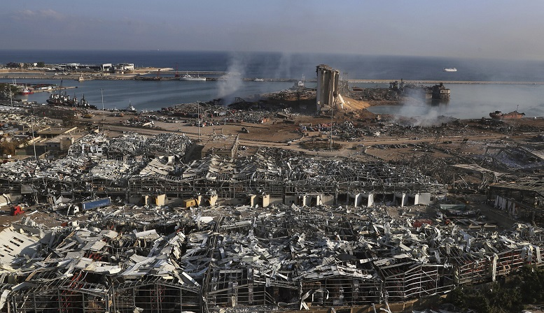 beirut port after explosion