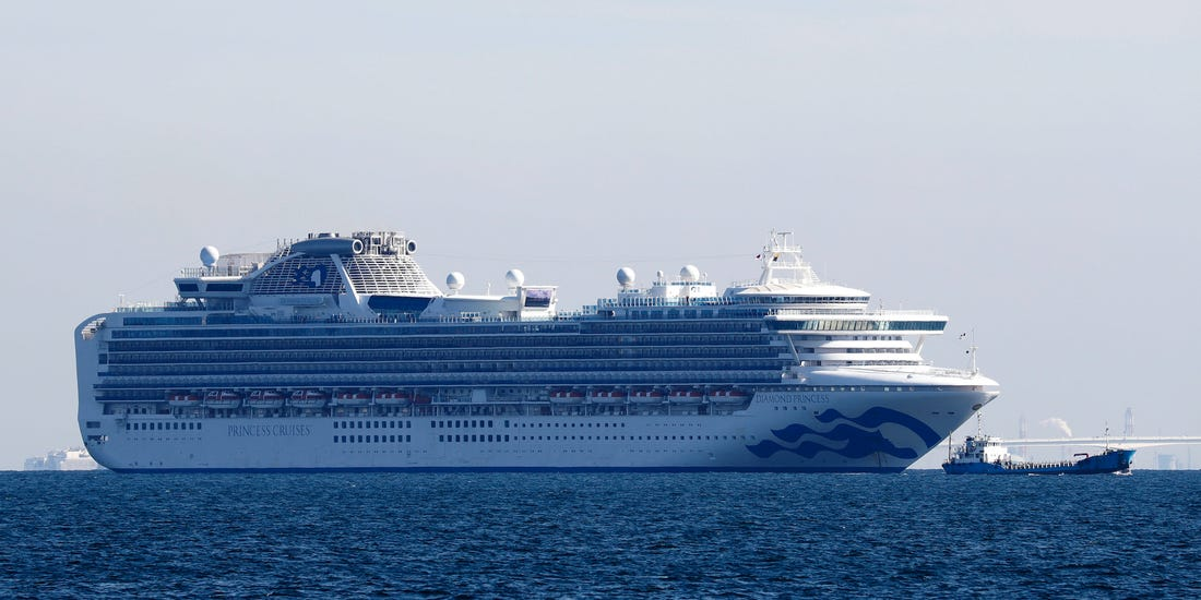 diamond princess cruiseship