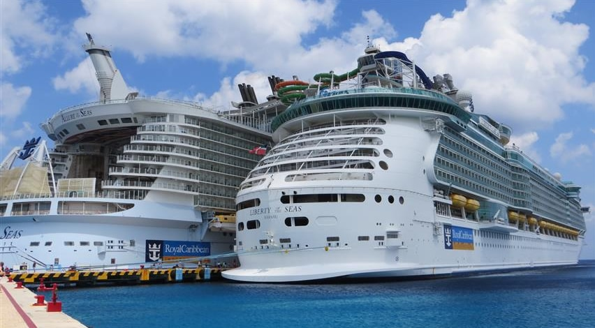 royal caribbean ships in port