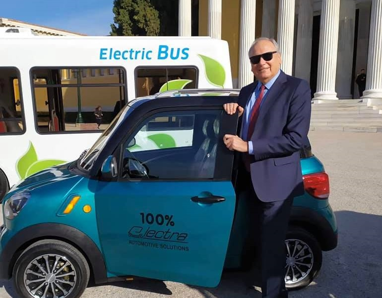 spyridon electric bus