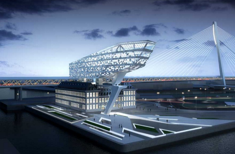 Zaha Hadid Antwerp Port House