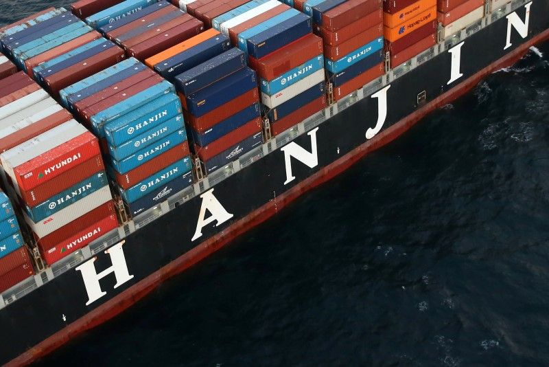 1 hanjin containers