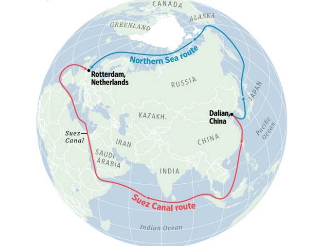arctic route world