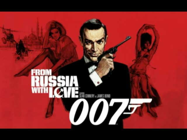 bond from ruusia with love