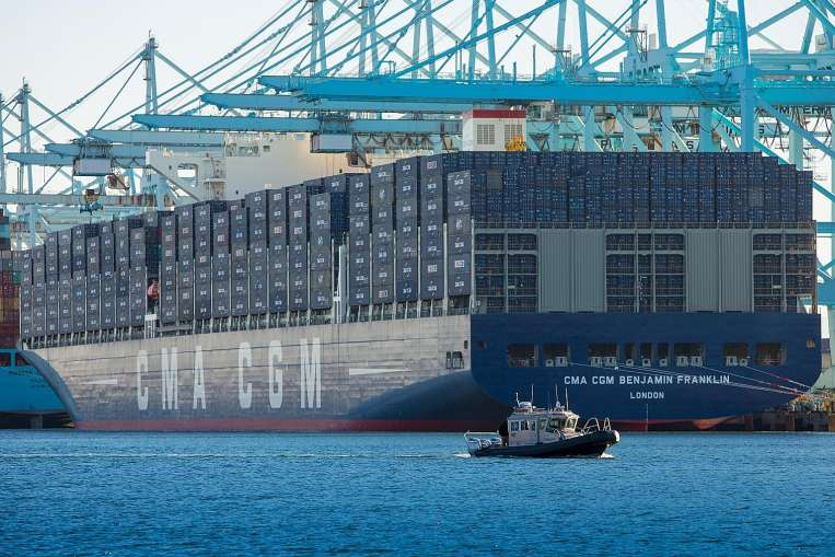 cma cgm containership