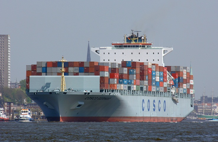cosco ship containers