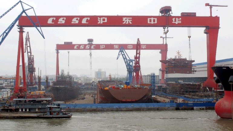 shipbuilding china